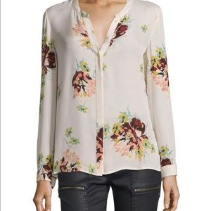 Joie Floral Long Sleeve Top, XS